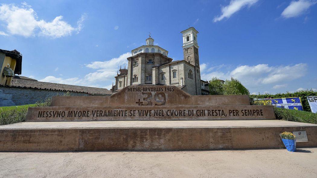 Torino Cherasco, inaugurato il primo monumento in memoria delle vittime dell'Heysel
