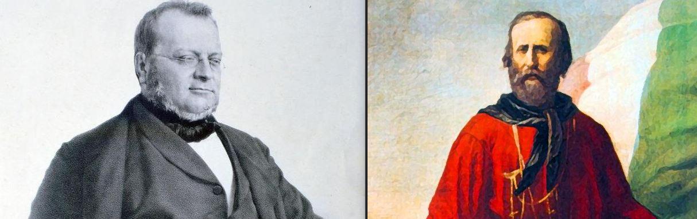18 Aprile 1861: in parlamento si scontrano Garibaldi e Cavour