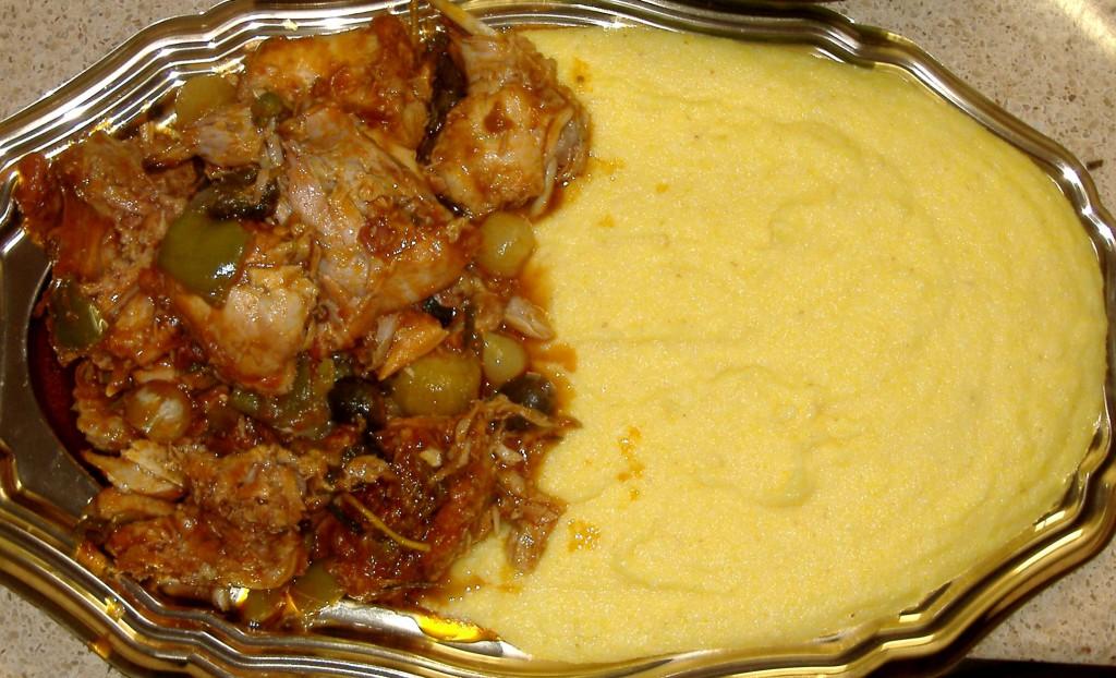 piatto di polenta