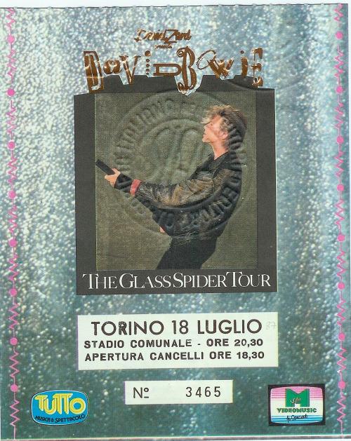 David Bowie a Torino: nel 1987 il grande concerto del Duca Bianco