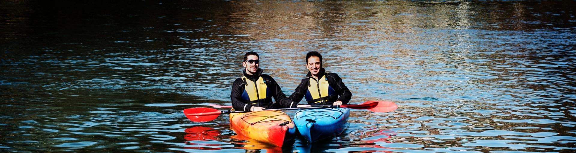 Il Po in kayak, Torino