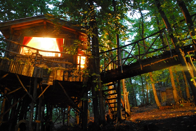 Case sugli alberi una realt tutta torinese for Moderni piani di palafitte