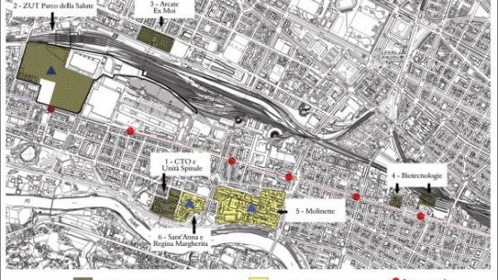 Parco della Salute: ok dal Comune per le aree urbane
