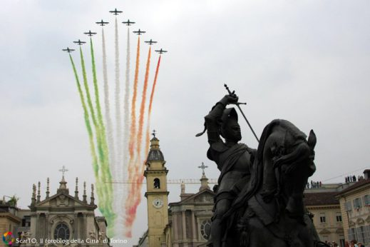 Aeroporto Torino-Aeritalia festeggi i primi 100 anni con le frecce Tricolori