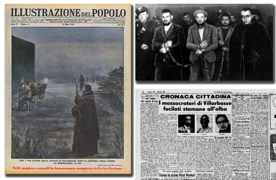 """Gli ultimi condannati a morte in Italia: fucilati a Torino i 3 autori della """"Strage di Villarbasse"""""""