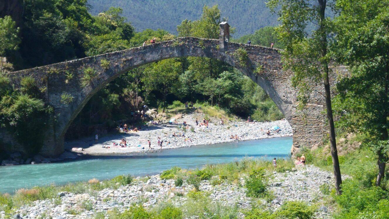 Alla scoperta del ponte del diavolo di lanzo for Piani di fondazione del ponte