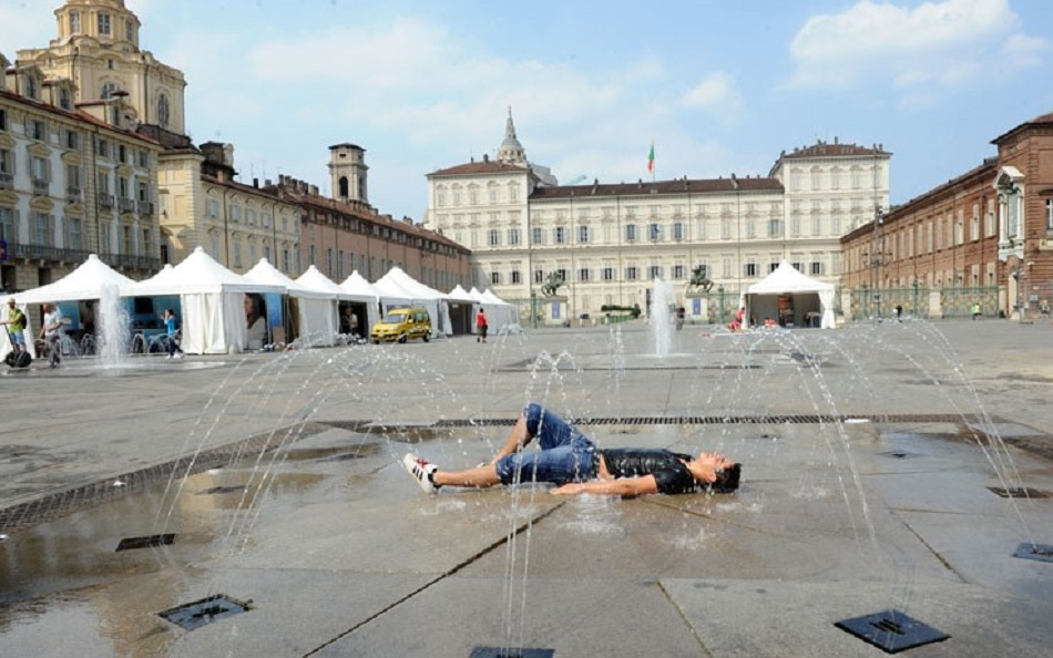 Meteo: Torino tra le città più calde d'Italia, temperature oltre 35 gradi