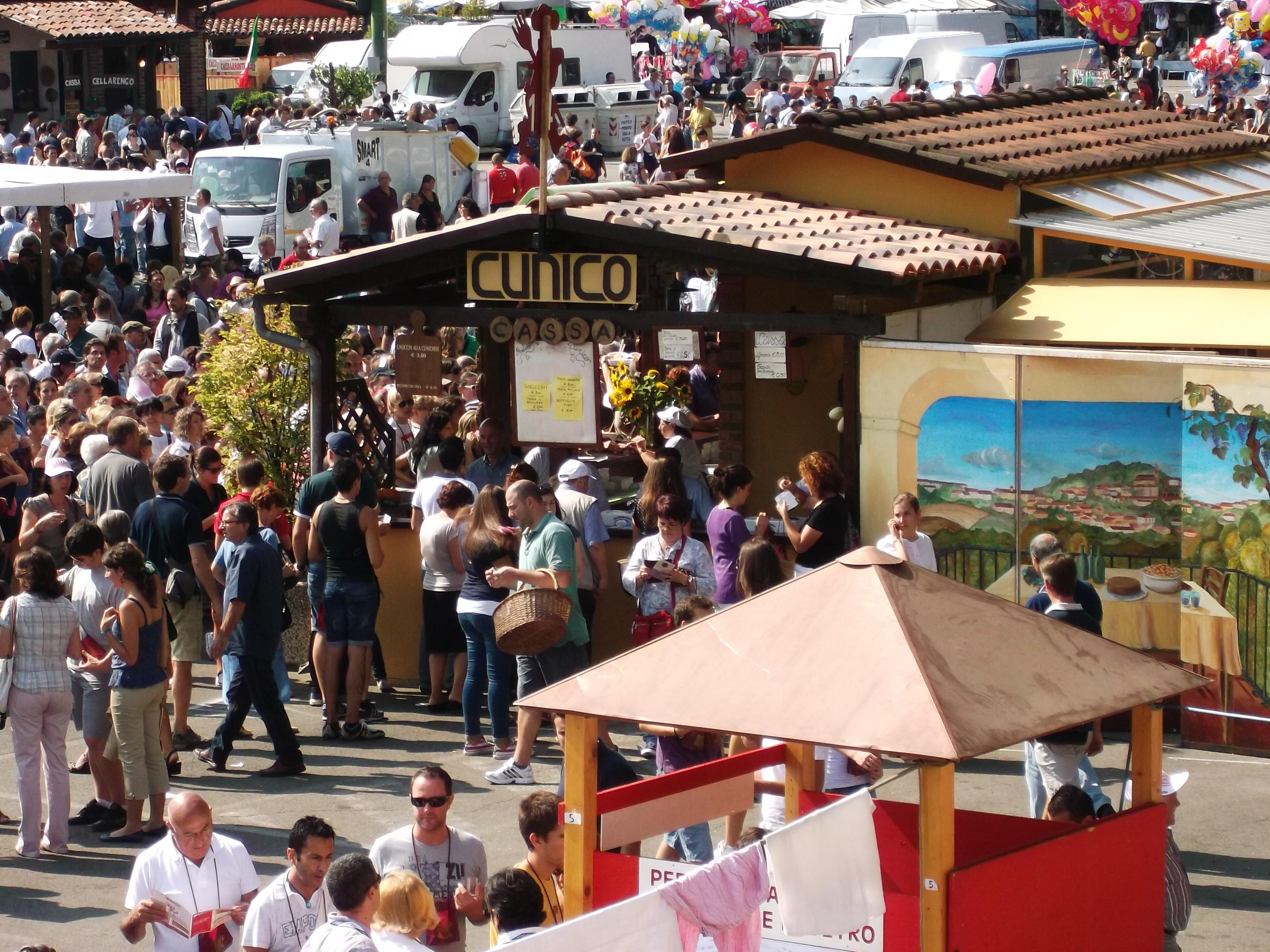 Le sagre d'agosto in Torino e provincia