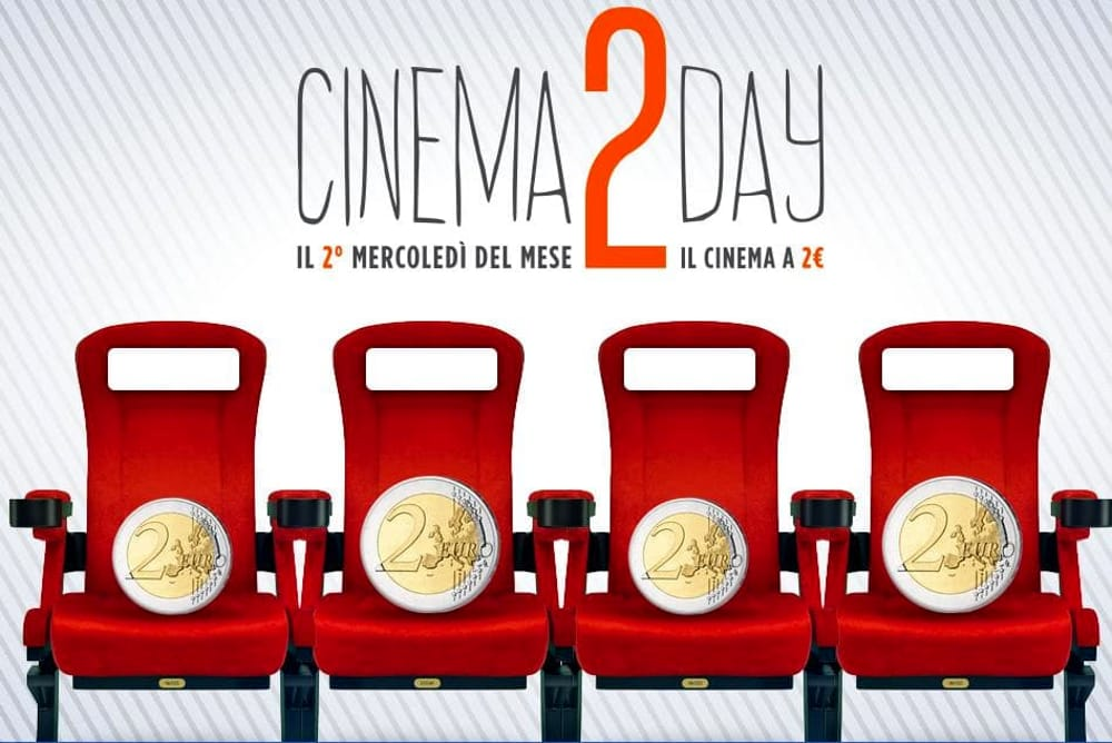 Cinema2Day: a Torino si va al cinema con solo 2 euro
