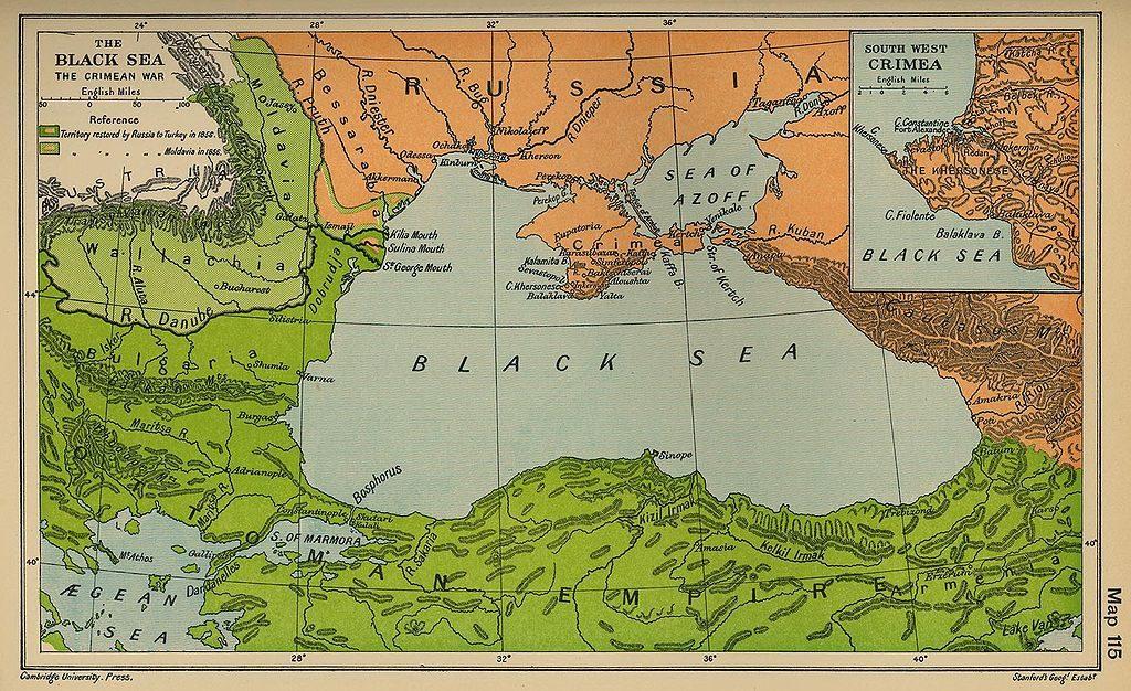 Il 4 ottobre 1853 scoppia la guerra di Crimea