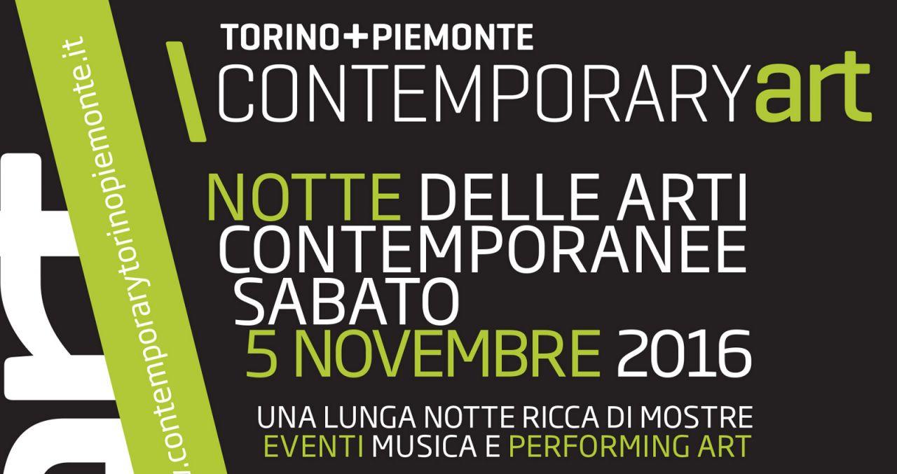 Torino: La Notte delle Arti Contemporanee da sabato 5 novembre