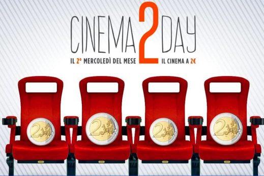 Cinema2Day: questa sere a Torino si va al cinema con solo 2 euro