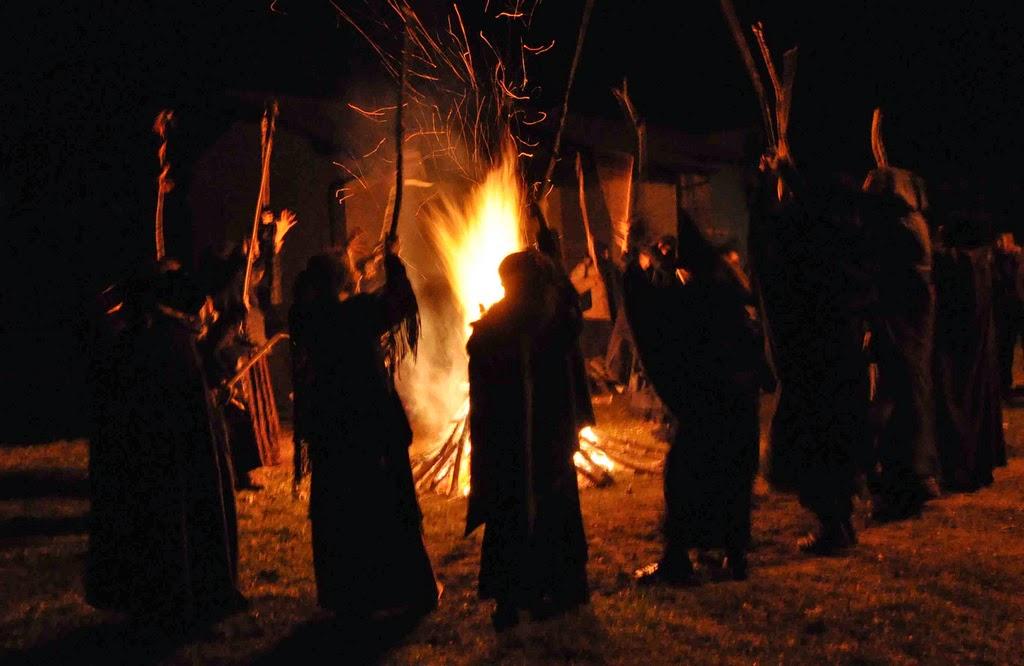 le masche, streghe del folclore piemontese
