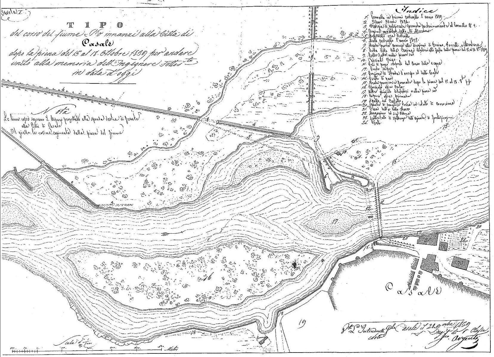 17 Ottobre 1839: a Torino un'alluvione semina morte e distruzione