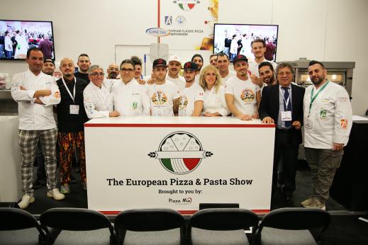 European Pizza&Pasta Show, trionfa il torinese Andrea Bosio