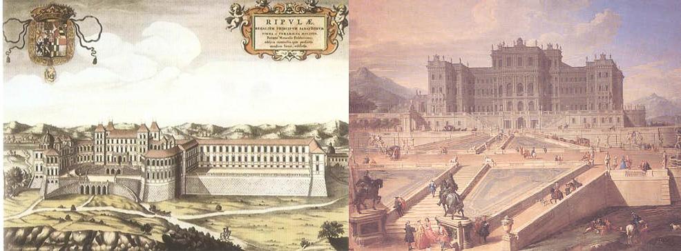 castello-di-rivoli-nel-1600