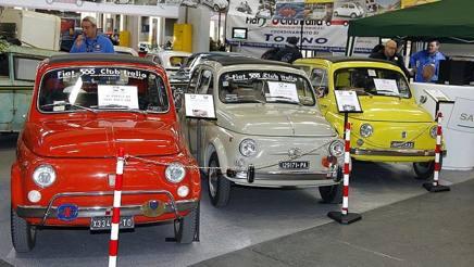 Automotoretrò, al Lingotto si festeggiano i 60 anni di Lambretta e Fiat 500