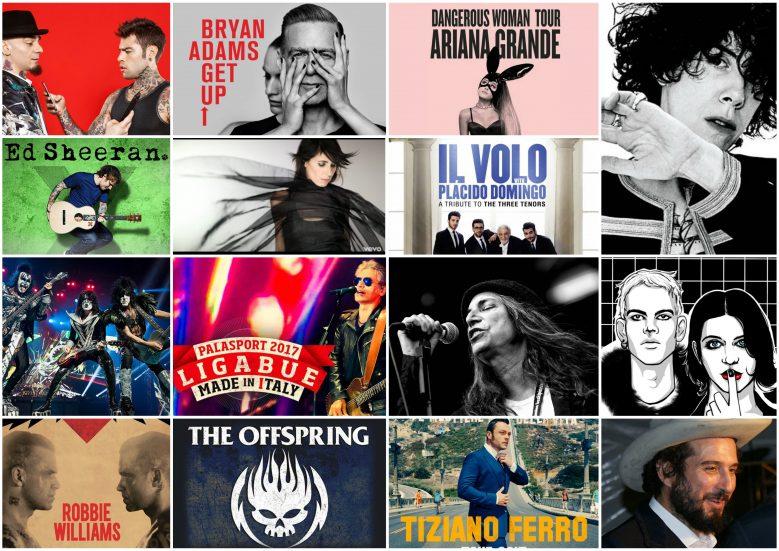 Torino-15 concerti da non perdere nel 2017