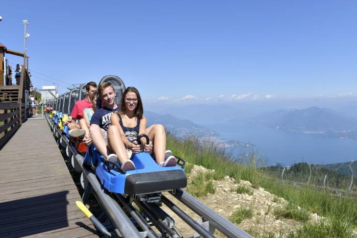 Novara: con Alpyland le montagne russe in montagna!