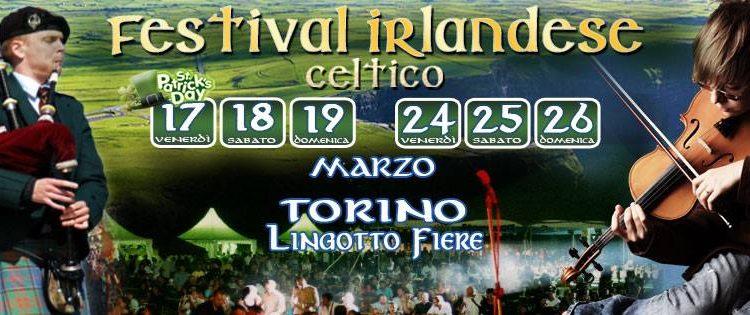 cosa fare a torino nel weekend (17-19 marzo 2017): festival irlandese