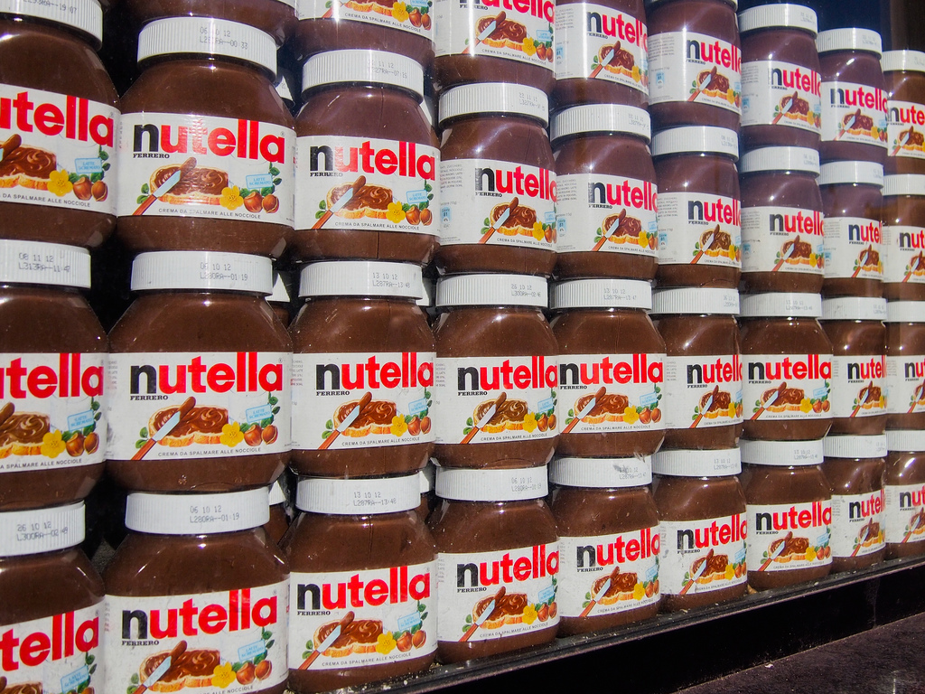 Nutella è il marchio più amato dagli italiani nel 2017