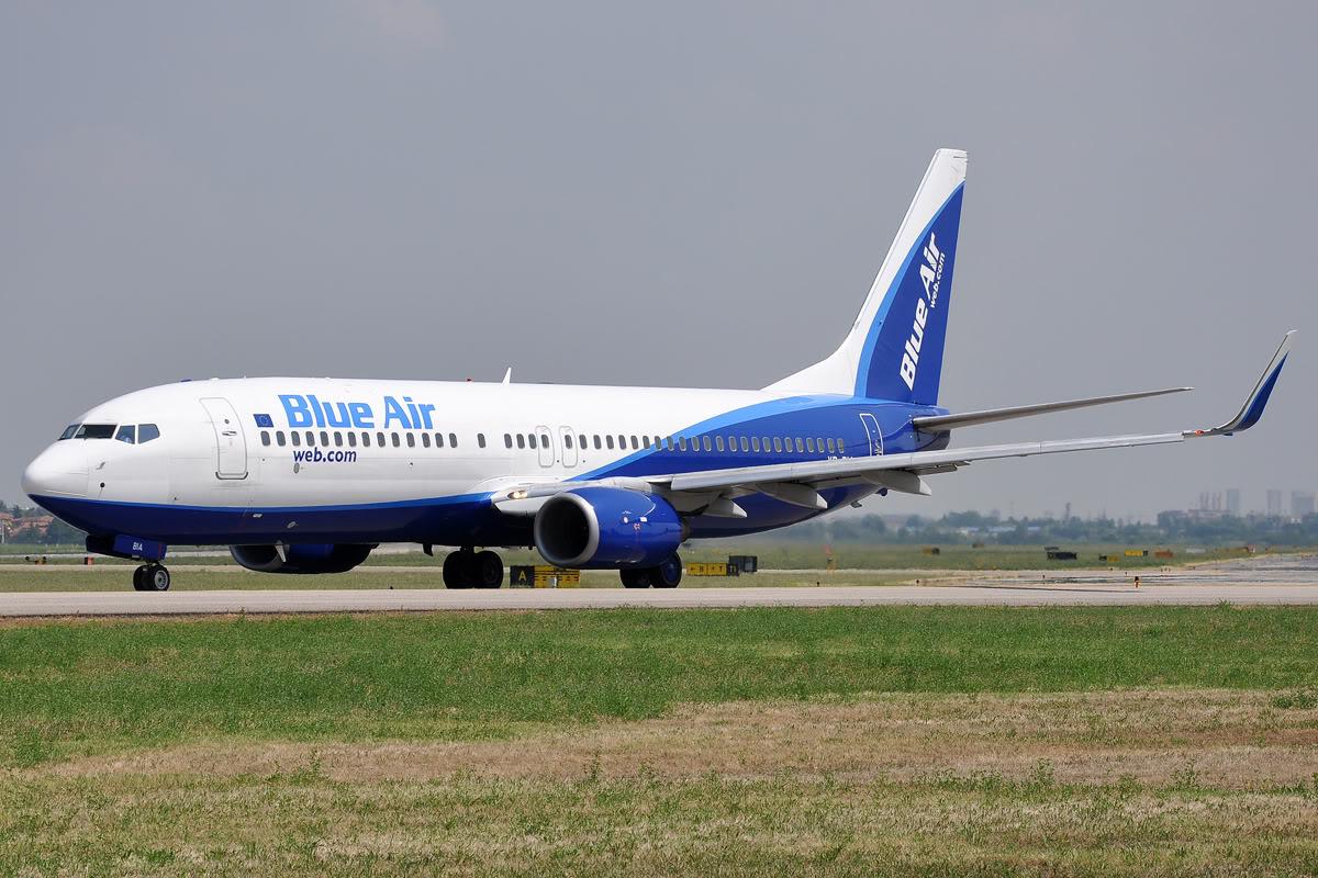 Blue Air, Torino - Trapani è il nuovo collegamento della compagnia