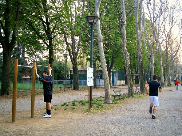 """""""Progetto Parchi"""", attività sportive al Parco Ruffini"""