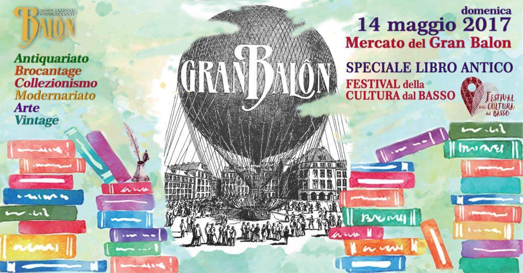 cosa fare a torino nel weekend (13-14 maggio 2017): Gran Balon speciale libro antico