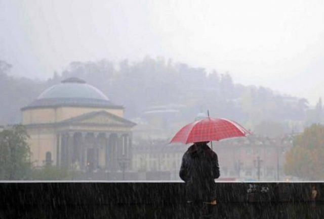 Metep Torino: inizia una settimana piovosa, temperature in calo
