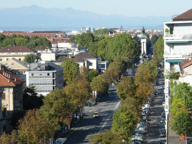 I viali di Torino come i boulevards parigini