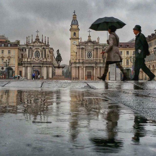Meteo Torino: settimana piovosa, temperature in ribasso