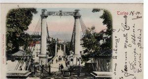 Un ponte di ferro ad unica campata: quando Torino sembrava New York