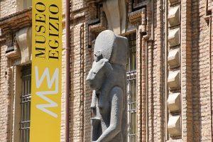 28 aprile 2014: Christian Greco direttore del museo Egizio di Torino