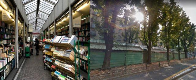 Chiudono le storiche bancarelle di libri di corso Siccardi