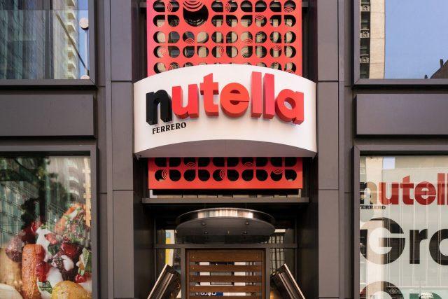 Nuova apertura del Nutella Cafè in America: sbarcherà a New York!