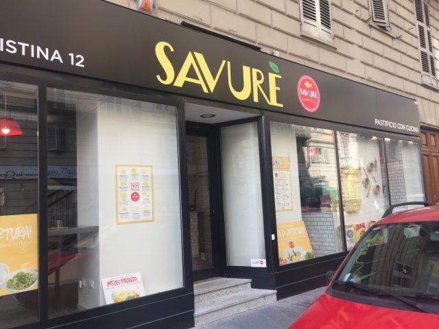 La pasta fresca di Savurè a Torino apprezzata anche a Londra!