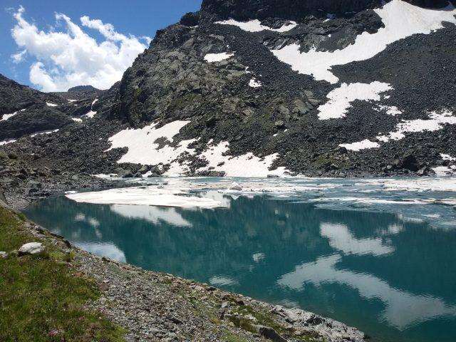 Lago della Rossa, il lago più esteso delle tre valli di Lanzo