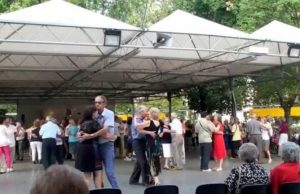 Riapre il punto verde di piazza d'Armi: attivi ristorante e sala da ballo