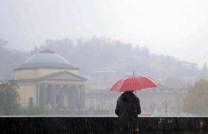 Meteo, a Torino allerta gialla per i forti temporali in arrivo