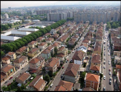 Mirafiori sud Torino, quando era un piccolo borgo di campagna